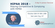 HIPAA 2018 - Staying Competitive and Complying with HIPAA