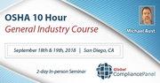 San Diego Seminar on OSHA 10 Hour General Industry Course