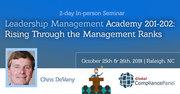 Leadership Management Academy 201-202: Rising Through the Management Ranks