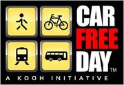 Car Free Day, India Chapter 2012