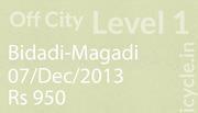 L1 Bidadi-Magadi 07Dec2013