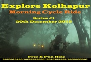 Explore Kolhapur - Morning Cycle Rides - Series # 1
