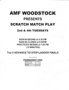 AMF Woodstock - Match Play Tournament