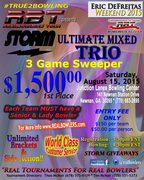 RBT Ultimate Mixed Trio sponsored by Storm