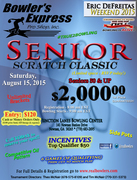 RBT $2000 Seniors Scratch Classic sponsored by Bowlers Express Pro Shop