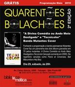 Show Grátis Mutantes Cover - sábado 29/05 20h
