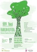 Show de HAROLDO OLIVEIRA no Encontro de Gestão Ambiental.