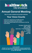 Healthwatch City of London Annual General Meeting