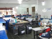 Área de produção...