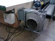 Exaustor, sistema de ar para inflar tapetes