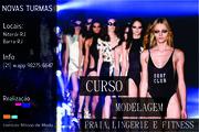 CURSO DE  MODELAGEM PRAIA, LINGERIE E FITNESS