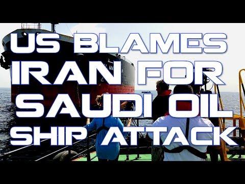 U.S Blames Iran for Saudi Oil Ship Attack! (False Flag?)
