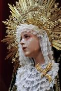Besamanos a la Virgen del Mayor Dolor