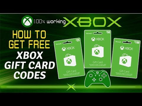 Free Xbox Gift Cards Codes 2019 - Xbox Gift Cards Giveaway