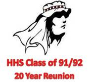 HHS CLASS OF 1991 & 1992 JOINT 20 YEAR REUNION