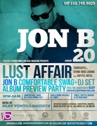 Jon B hosts Album Release at Stone Rose Lounge LA