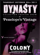 Penelope's Vintage Fashion Show debuts Dynasty Collection