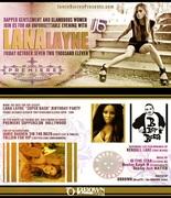 Lana Layne Birthday Friday Premiere Supperclub