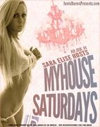 Sara Elise hosts Saturdays MyHouse Hollywood