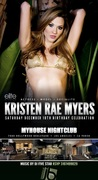 MyHouse Saturdays celebrates Kristen Rae Myers Birthday