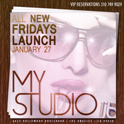 MyStudio Hollywood Launches New Friday Nights