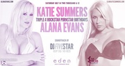 Alana Evans and Katie Summers Birthday at Eden Hollywood
