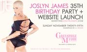Joslyn James Birthday and Web Launch at Greystone Manor