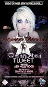 Ash Hollywood Hosts PornstarTweet Halloween