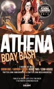 Playboy Model Athena Lundberg Birthday at Colony LA