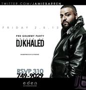 Dj Khaled Hosts Friday Eden Hollywood