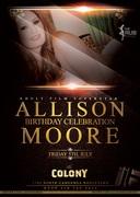 Adult Star Allison Moore Birthday at Colony LA