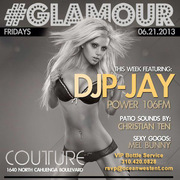 Power 106 DJ P-Jay @ Couture Hollywood Friday