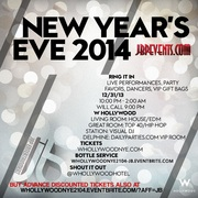W Hollywood NYE 2014 New Years Eve