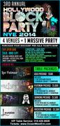 Hollywood NYE Block Party