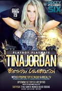 Playboy Playmate Tina Jordan Birthday Bash