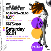Sexy Saturdays @ Colony Hollywood