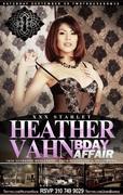 Adult Film Star Heather Vahn Birthday at Eden