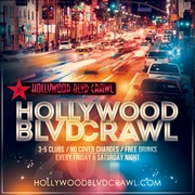 Friday Hollywood Club Crawl Tickets
