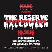Reserve Halloween Downtown LA 2016