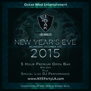 1Oak New Year's Eve Bash
