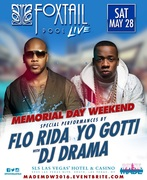 Memorial Weekend Saturday Pool Party with Flo Rida