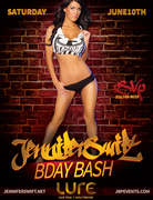Miss Tapout Magazine Jennifer Swift Bday At Club Lure