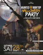 Haunted W Rooftop   W Hollywood Halloween Tickets