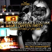 W Masquerade Halloween | W Hollywood Rooftop Tickets