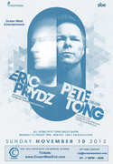 Eric Prydz & Pete Tong @ Create Hollywood