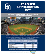 San Diego Padres and Strikes for Sixth Grade Camp