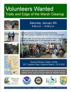 Explore the Trails and Clean-up the Marsh