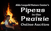 The Aldo Leopold Nature Center's Pipers in the Prairie Online Auction is Now Open!!!