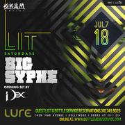 Lure Nightclub Saturday July 18