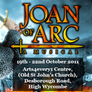 Joan of Arc the musical returns!